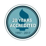 BBB 20 years accredited