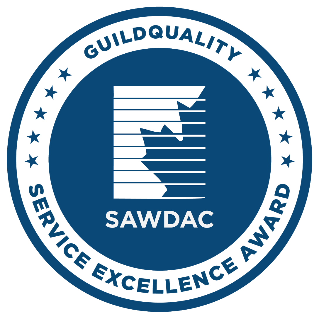 SAWDAC Service Excellence Award with GuildQuality