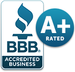 BBB Accredited Business, A+ rated