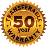 50 Year Warranty Badge