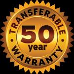 50 Year Warranty Badge