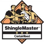 Certainteed_ShingleMaster Certified Emblem, ThreeStrong Men with Tools