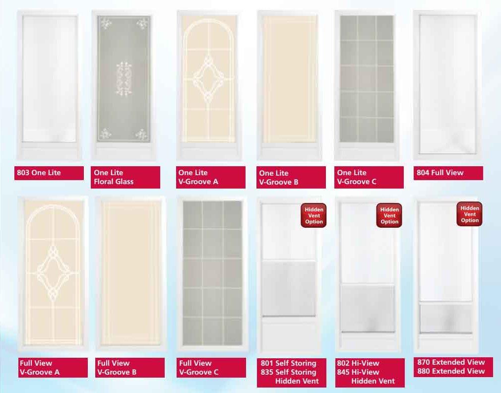 Bradford Series 1 Storm Doors