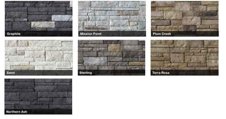 Tight-Cut Collection Versetta Stone Siding Series