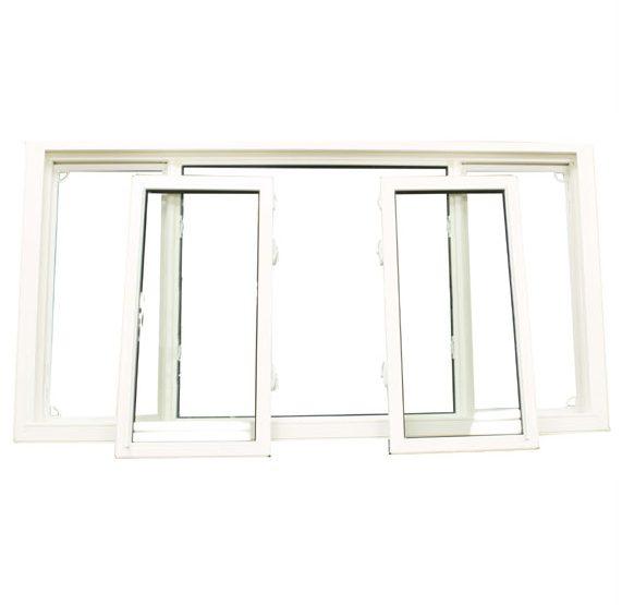 Double Slider Tilt Out Window