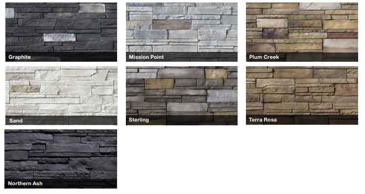 lodgestone collection versetta stone siding series
