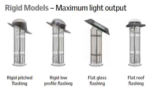 rigid models sun tunnels