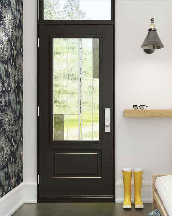 Soho Steel entry Door Dark Grey