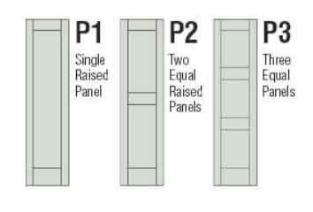 Shutter Raised Panels