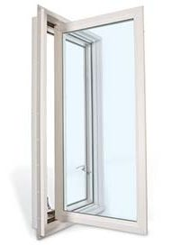 Casement Style Window with Crank Handle