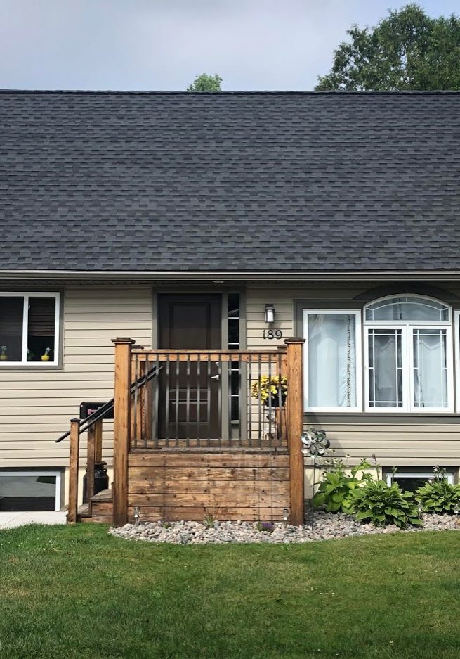 Asphalt Roofing GAF Timberline HD Charcoal 2