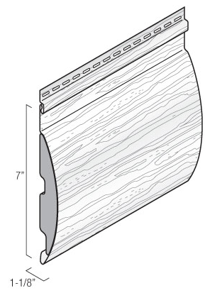 Montebello Vinyl Log siding Profile