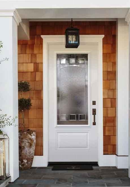 Novatech Steel Entry Door - Orleans Style, bistro doorglass