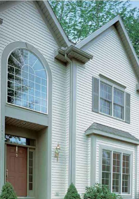 Prova House Example Vinyl Siding