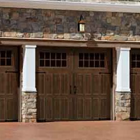 classic carriage house garage door 3 car amarr
