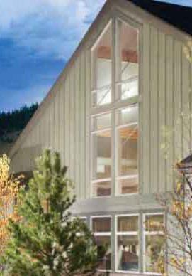 vertical board & batten vinyl siding kaycan house example
