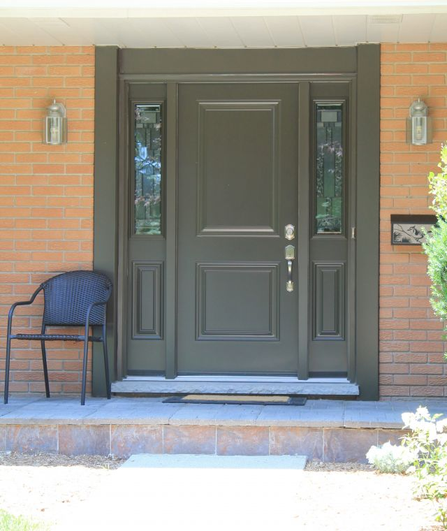 Wardco Single Door in Commerical Brown