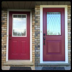 Upgraded Door
