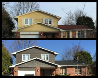 New Siding and Roof